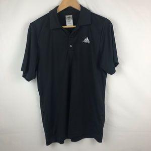 Adidas Black Men's Size M Polo Shirt